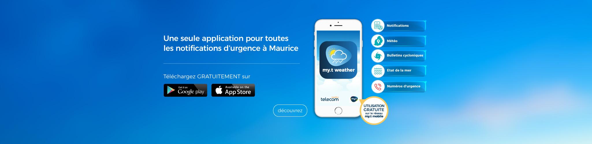 my.t Weather app